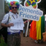 Andy Tysoe aka @dementiaboy shows his true colours