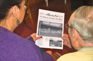 "SMN produces 200 copies of the legendary ""Sporting Pink"" to spark memories & conversations within its groups."