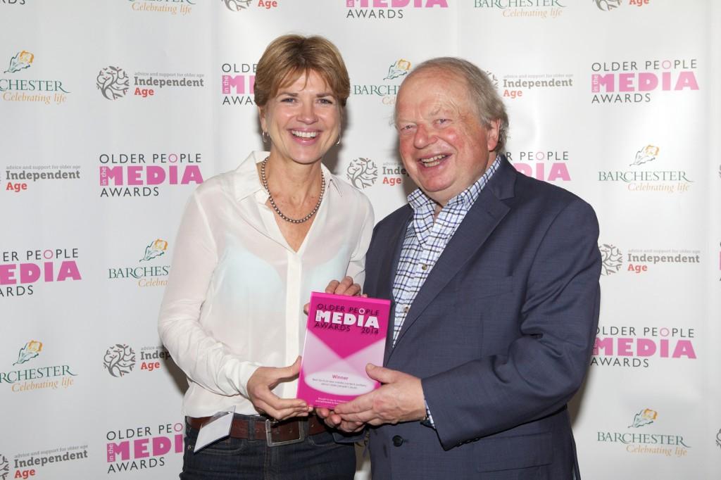 Independent Age, Older People in the Media Awards - 13Nov14