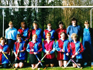 Leatherhead Ladies Seconds (aka The Lipstick Eleven) 1996. I'm front row, second from left.
